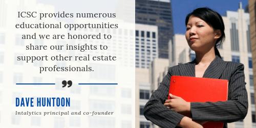 Intalytics Huntoon quote ICSC MI event 2019