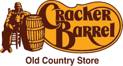 Cracker Barrel logo.