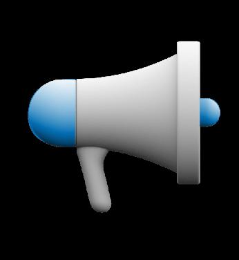 Icon of megaphone.