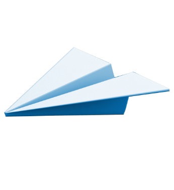 Icon of paper airplane.