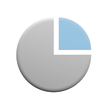 Icon of pie chart.