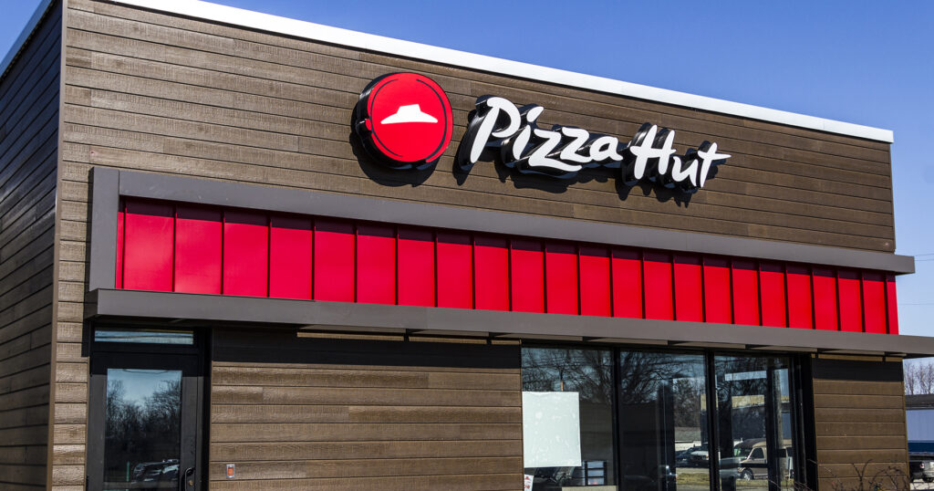 Photo of a Pizza Hut restaurant