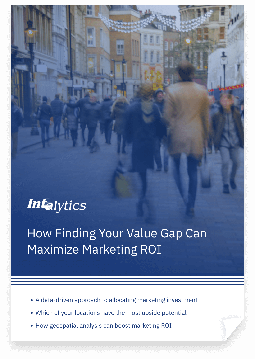 Thumbnail of resource paper titled: How Finding Your Value Gap Can Maximize Marketing ROI.
