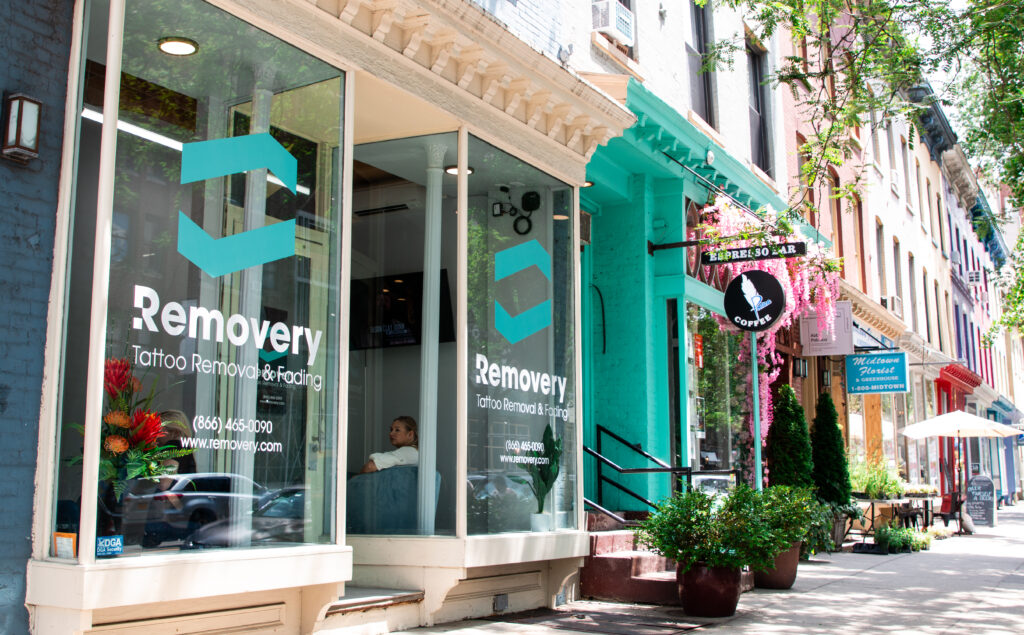 Removery storefront in Brooklyn
