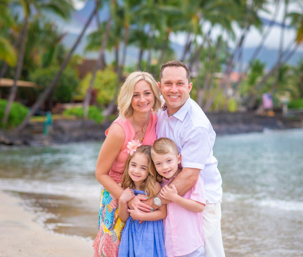 Photo of Matt Montgomery and his family